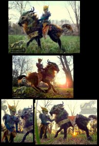 _sold__hand_made_poseable_mount_and_rider__by_wood_splitter_lee-d6uvmp8